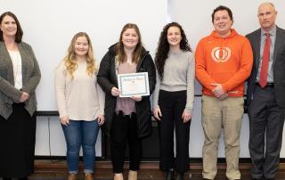 Sprague Leadership Students January 2020