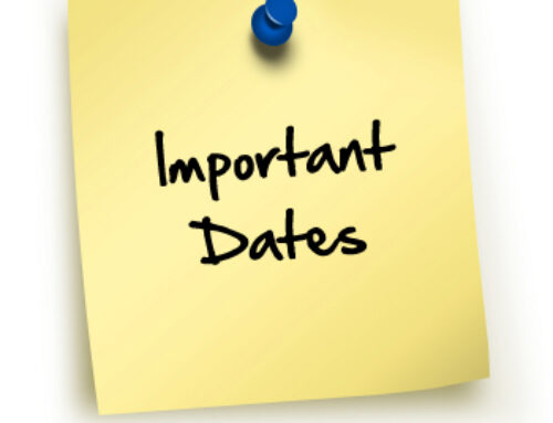 October Important Dates – Fechas importantes de octubre